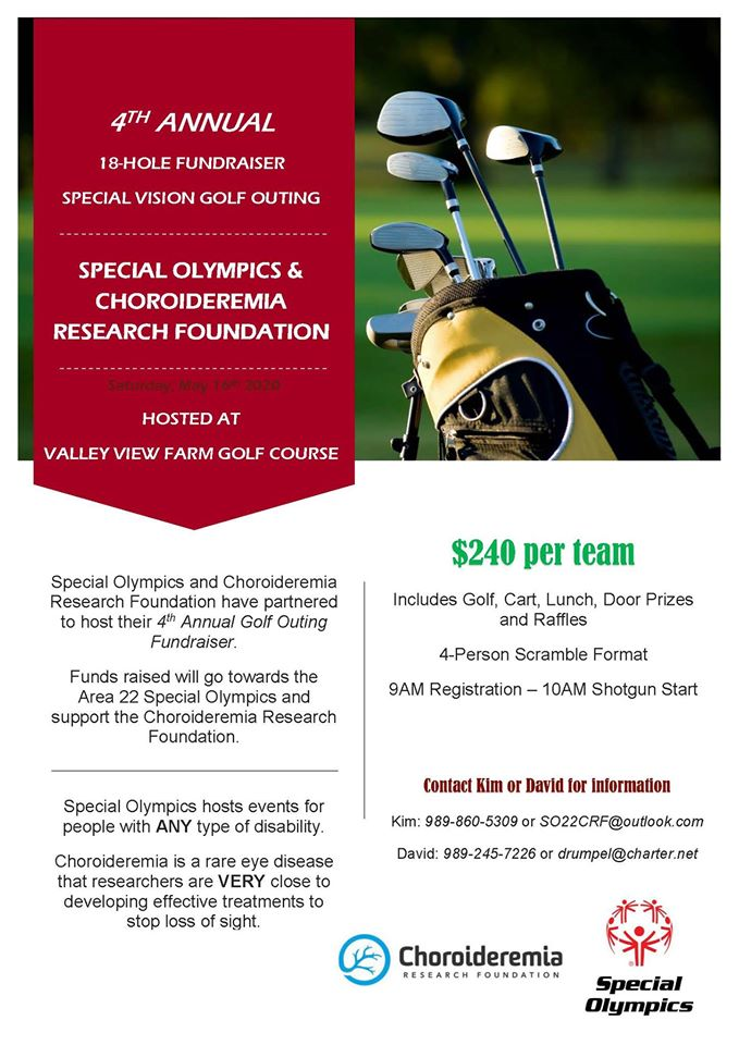 4th Annual Special Vision Golf Outing