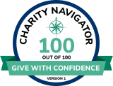 Charity Navigator Give With Confidence Score 100 out of 100