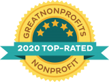 GreatNonProfits Top Rated seal